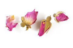 De thee nam bloemen toe Stock Foto