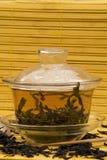 De Thee van Dankong van de honing in Gaiwan royalty-vrije stock fotografie