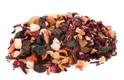 De thee van de bloem en van het fruit royalty-vrije stock afbeeldingen