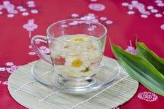 De thee van de chrysant Stock Foto