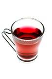 De thee van de hibiscus Royalty-vrije Stock Afbeelding