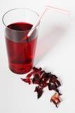 De thee van de hibiscus royalty-vrije stock afbeeldingen