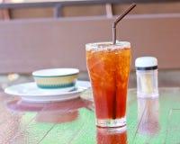 De thee van de ijscitroen Stock Afbeelding