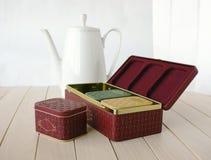 De thee van de inzameling royalty-vrije stock afbeeldingen