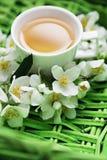 De thee van de jasmijn Stock Afbeeldingen