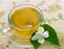 De thee van de jasmijn royalty-vrije stock afbeeldingen