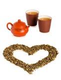 De thee van de liefde Royalty-vrije Stock Afbeeldingen