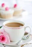 De thee van de middag Stock Fotografie