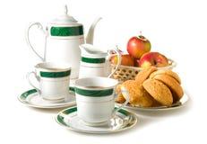 De thee van de middag stock foto