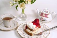 De thee van de middag Stock Afbeeldingen