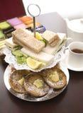 De thee van de middag. Royalty-vrije Stock Fotografie