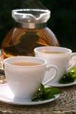 De thee van de munt Stock Afbeelding