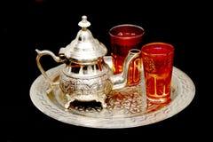 De thee van de munt Stock Foto