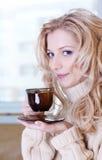 De thee van de ochtend Stock Afbeeldingen