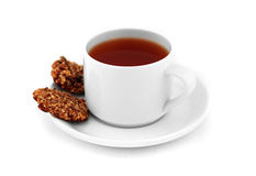 De thee van de ochtend royalty-vrije stock afbeelding