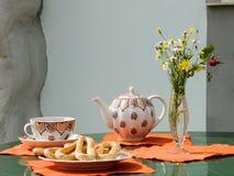 De thee van de ochtend Stock Foto's