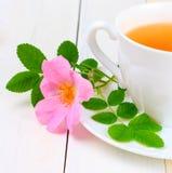 De thee van de rozebottel Stock Afbeelding