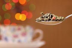 De thee van het blad royalty-vrije stock fotografie