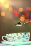De thee van het blad stock afbeeldingen