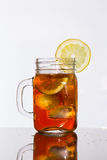 De thee van het citroenijs Royalty-vrije Stock Fotografie
