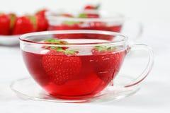 De thee van het fruit stock afbeeldingen