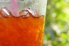 De thee van het ijs stock afbeelding