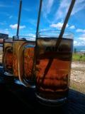 De thee van het ijs royalty-vrije stock afbeelding