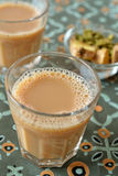 De thee van Masalachai stock afbeelding