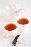 De thee van Oolong Stock Foto's