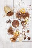 De thee van Rooibos Stock Foto's