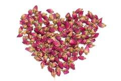 De thee van rozenbloemen Stock Afbeeldingen