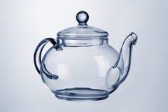 De theepot van het glas Royalty-vrije Stock Afbeelding