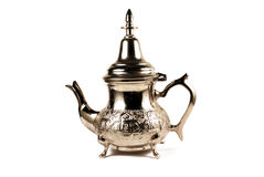 De theepot van Marokko Royalty-vrije Stock Afbeeldingen