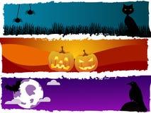 De thema's van Halloween vector illustratie