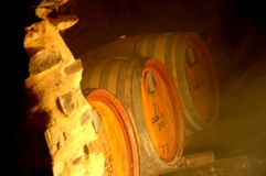 De Thema's van de wijnkelder Stock Fotografie