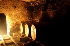 De Thema's van de wijnkelder Stock Foto