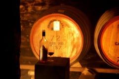 De Thema's van de wijnkelder Stock Foto's