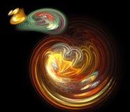 De Theorie van Big Bang Stock Afbeeldingen