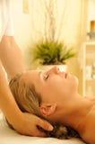 De Therapie van de massage royalty-vrije stock fotografie