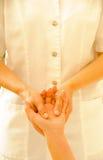 De Therapie van de massage royalty-vrije stock afbeelding