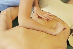 De therapie van de massage royalty-vrije stock foto's