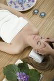 De therapie van de massage Royalty-vrije Stock Foto