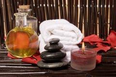 De Therapie van de massage stock foto