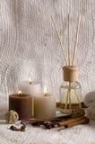 Aromatherapie royalty-vrije stock foto's