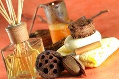 De therapie van het aroma stock fotografie