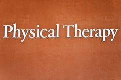 De Therapie van Phisical Stock Afbeelding