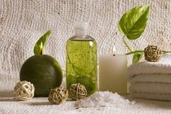 De punten van de aromatherapie stock foto's