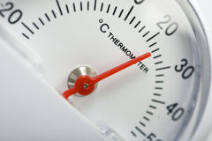 De thermometer van Celsius Stock Afbeeldingen