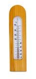 De thermometer van de sauna royalty-vrije stock foto
