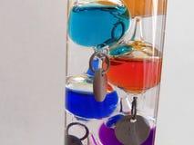 De thermometer Van Galilea stock afbeeldingen